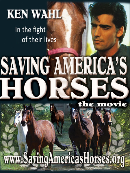 The Barbi Twins and Ken Wahl Are 'Saving America's Horse'