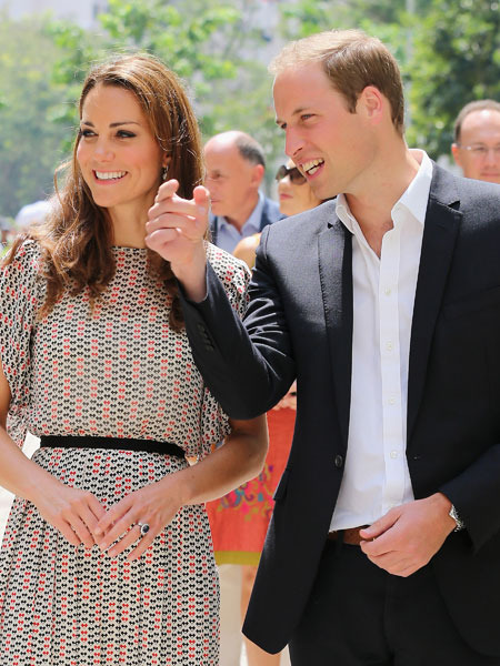 Prince William Hints at Royal Baby Plans, Kate Skips Wine