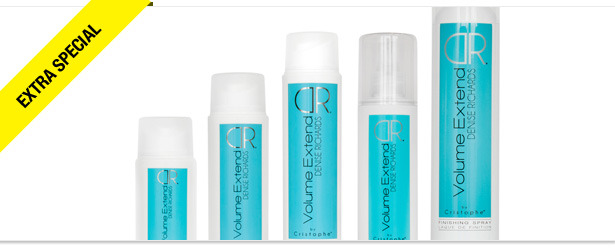 Win It! Complete Denise Richards Volume Extend by Cristophe Hair Care