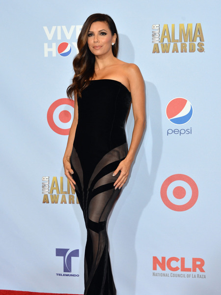 Photos! Eva Longoria Dazzles at Alma Awards