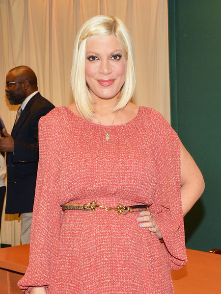 Tori Spelling Hospitalized  