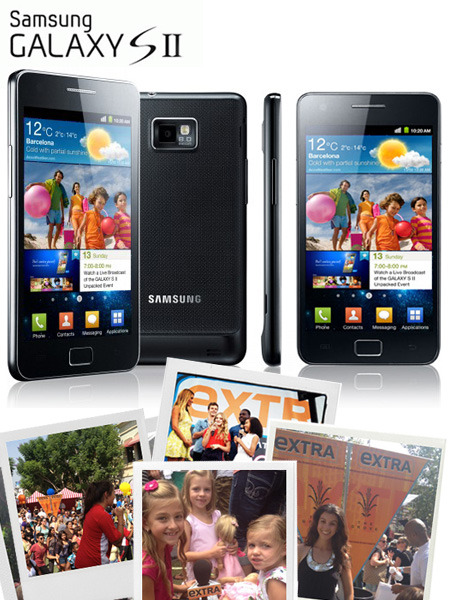 Win a Samsung Galaxy S II in '