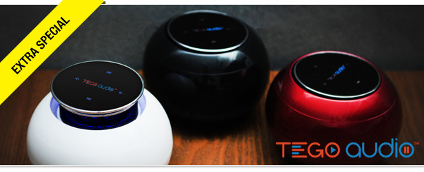 Win It! A Tego Cera Portable Speaker!