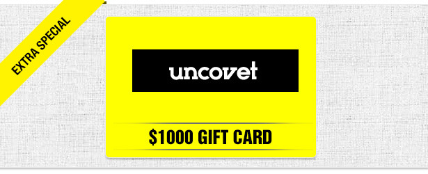 Win It! A $1,000 Gift Card to Shop Uncovet.com