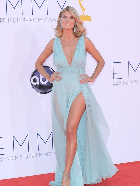 Emmy Red Carpet Trends: Angelina Jolie's Leg, Teal and Orange