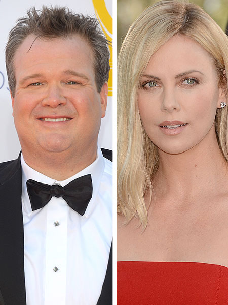 Eric Stonestreet on Charlize Theron Dating Rumors: A 'Practical Joke'