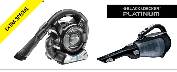 Win It! Black & Decker Platinum Vacuums