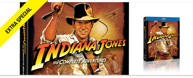 Win It! An 'Indiana Jones' Blu-ray Set, Signed by Harrison Ford