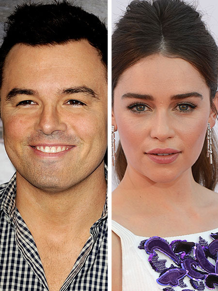 Seth MacFarlane Linked to New Squeeze Emilia Clarke