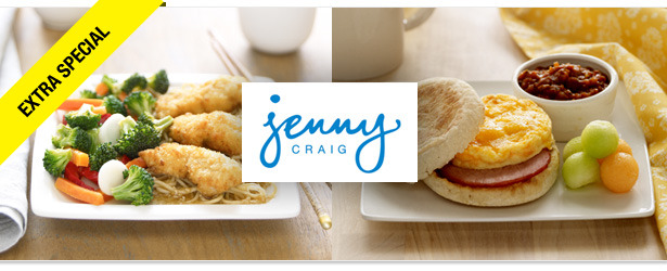 Win It! A Jenny Craig Gift Card for a Free 30-Day Program