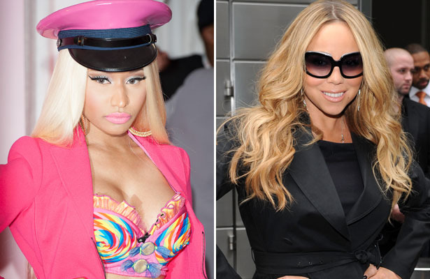 Nicki Minaj vs. Mariah Carey: &#039;Idol&#039; Smackdown Caught on Tape