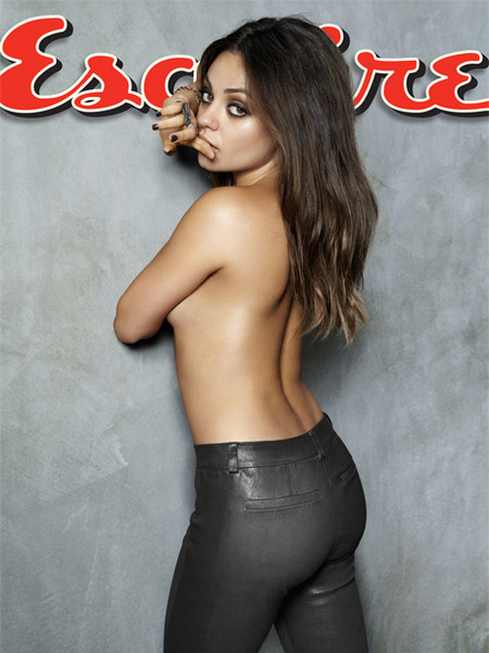 Mila Kunis Goes Topless for Esquire's Sexiest Woman Alive Cover