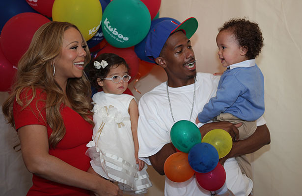 Nick Cannon Talks Wife Mariahs &#039;Idol&#039; Feud, Celebrates Kids Website