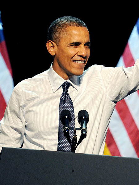 Obama Rallies in Hollywood, Jokes About Debate Performance