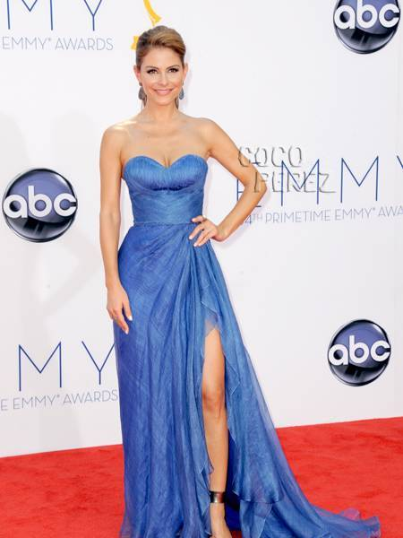 Maria Menounos Auctions Emmy Dress for Charity