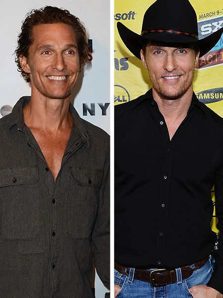 Pic! The Skinny: Matthew McConaughey Drops 30 Pounds for Role