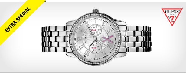 Win It! A GUESS 'Sparkling Pink' Watch