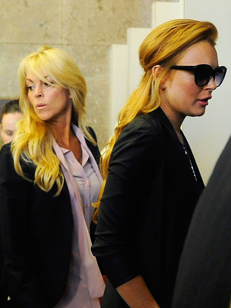 Lindsay Lohan and Mom Dina Fought Over Foreclosure Money