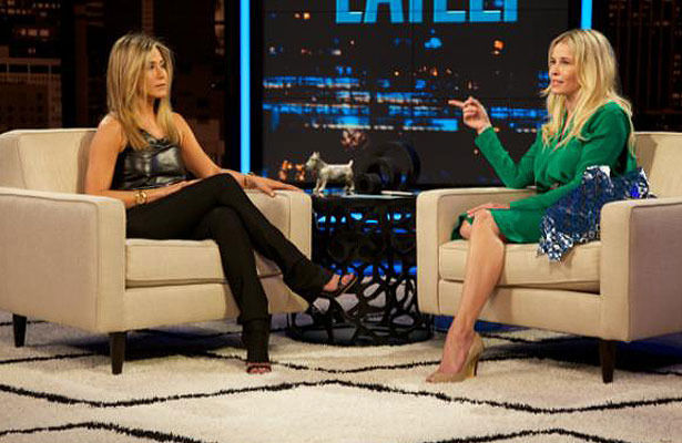 Jennifer Aniston Gets Weepy Talking About Engagement on &#039;Chelsea Lately&#039;