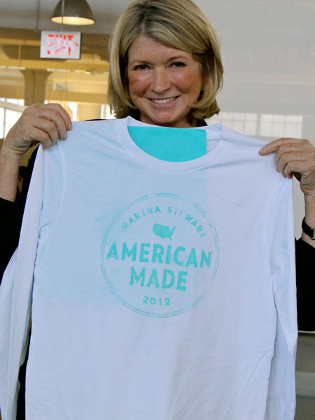 Martha Stewart Living Introduces 'American Made'