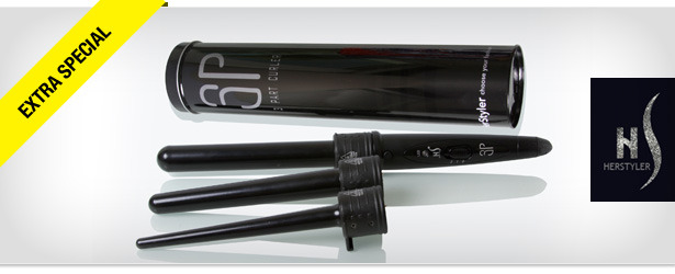 Win It! A HerStyler 3P Curling Iron