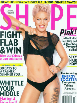 Extra Scoop: Pink Flaunts 55-Pound Weight Loss  