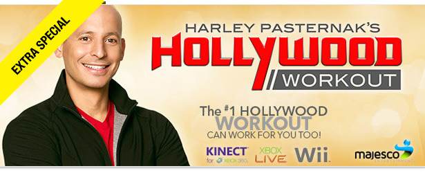 Win It! Harley Pasternak's Hollywood Workout for Xbox or Wii