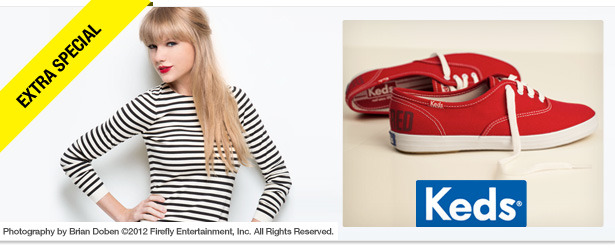 Win It! A Pair of Keds Red Champions