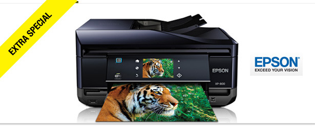 Win It! Epson Expression Premium XP-800 Small-in-One Printer