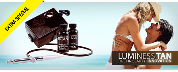 Win It! A Luminess Tan Airbrush System