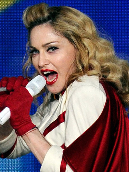 Madonna Booed for Urging Concertgoers to Vote for President Obama