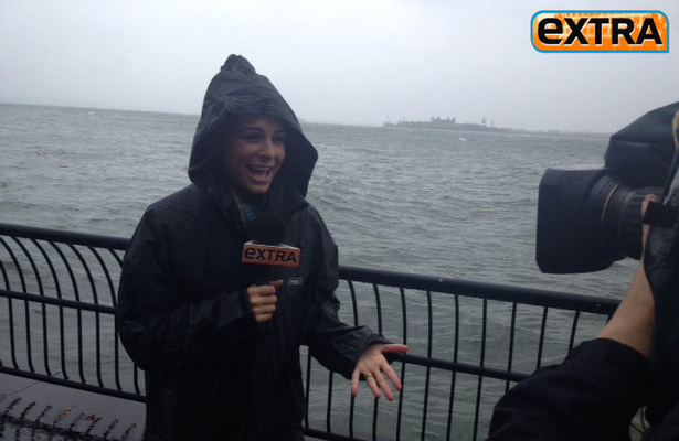 Maria Menounos on the Frontlines of Superstorm Sandy