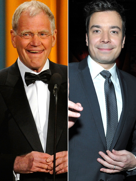 David Letterman, Jimmy Fallon Go On Despite Storm and No Audience