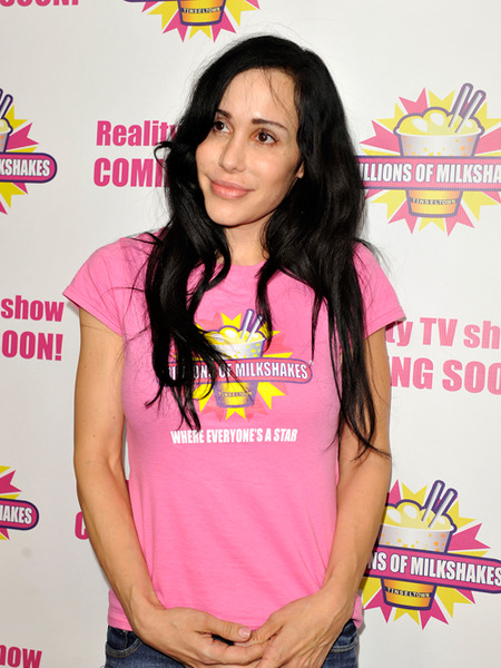 Octomom Nadya Suleman Checks Into Rehab, Kids Left with Nannies