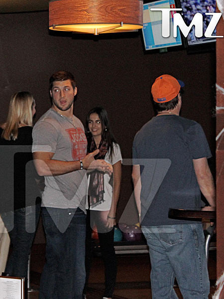Is Tim Tebow Dating Camilla Belle?