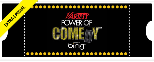 Win It! Two Tickets to Variety's Power of Comedy Event