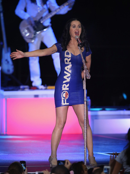 Katy Perry on Skintight Obama Dress: 'I'm Doing My Civic Duty'