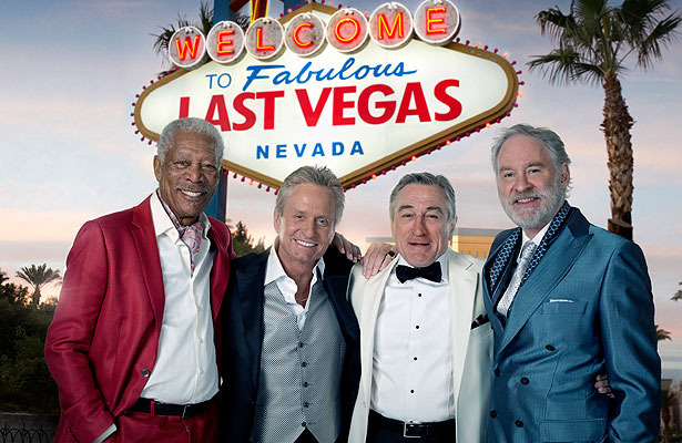 First Look! Michael Douglas and Robert De Niro in Last Vegas