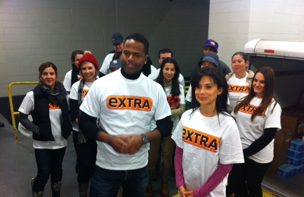 &#039;Extra&#039; Gives Back: Helping Victims of Hurricane Sandy