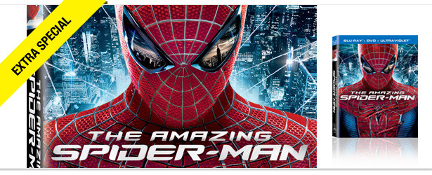 Win It! &#039;The Amazing Spider-Man&#039; on Blu-ray and DVD 
