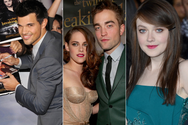 Rob Pattinson, Kristen Stewart Unite for Breaking Dawn 2 Premiere