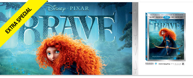 Win It! A DVD/Blu-ray Copy of 'Brave'