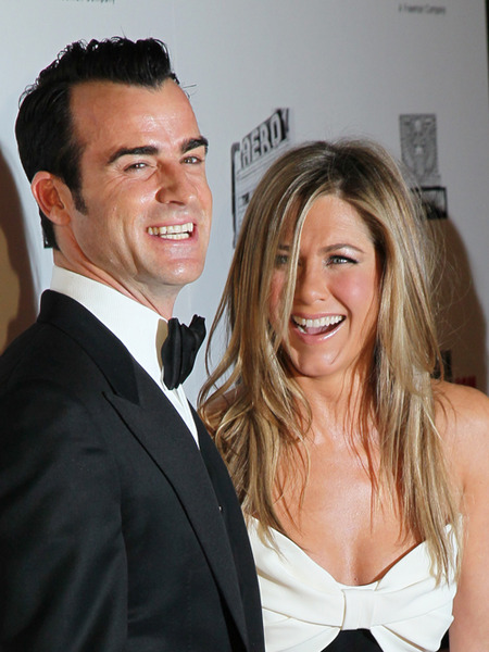 Jennifer Aniston and Justin Theroux Throw Beverly Hills Engagement Party