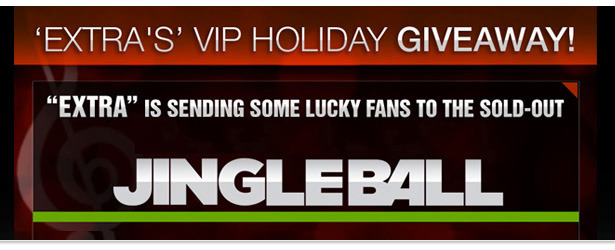 Win It! Four Tickets to the Jingle Ball