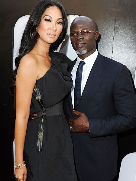 Kimora Lee Simmons and Djimon Hounsou Officially Separate