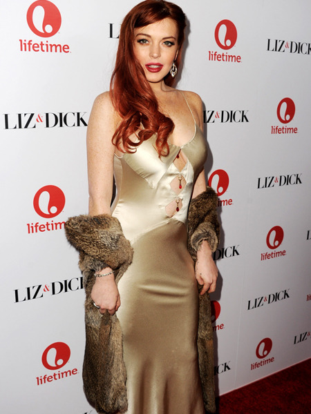Lindsay Lohan Plugs 'Liz & Dick,' Talks Rocky Past, Barbara Walters, Sister