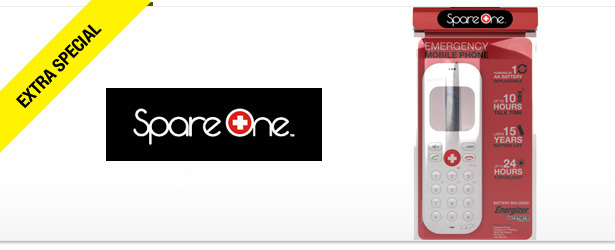 Win It! A SpareOne Emergency Mobile Phone