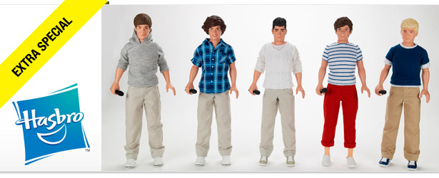 Win It! A One Direction Signed Doll Collection from Hasbro