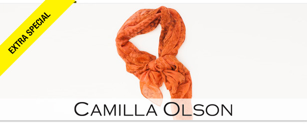 Win It! A Scarf from Camilla Olson Designs