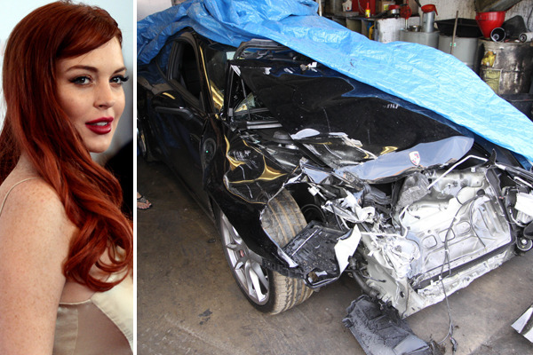 Lindsay Lohan's Accident Charges: She Was Driving, Say Police
